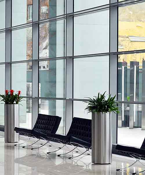 Commercial and office window cleaning service
