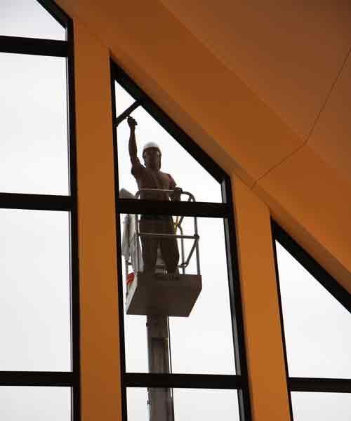 High Level window cleaning service